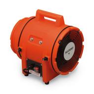 """Allegro 9533-E 8"""" Axial AC Plastic Blower, 220V/50 Hz"""
