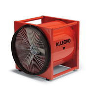 "Allegro 9525-E 20"" Axial AC Standard Metal Blower, 220V/50 Hz"