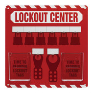 Accuform KST816 - 6-Padlock Lockout Store-Board™