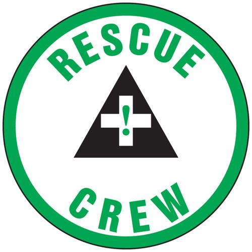 LHTL356 Rescue crew hard hat sticker