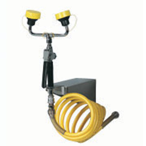 Dual Head Wall Mounted  Drench Hose Face /  Body Bradley S19-620