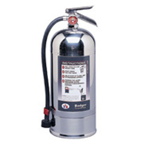 Wet Chemical Class K Fire Extinguisher- 2.5 gallon- Stored Pressure-