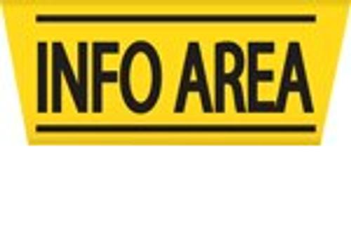 Info Area - Sign