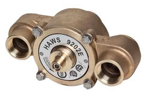 Haws 9202E Thermostatic mixing valve