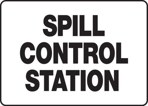 Spill Control Station Sign MCHL587VA