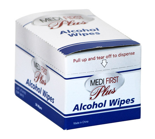 Alcohol Wipe Prep Pads - 50/box