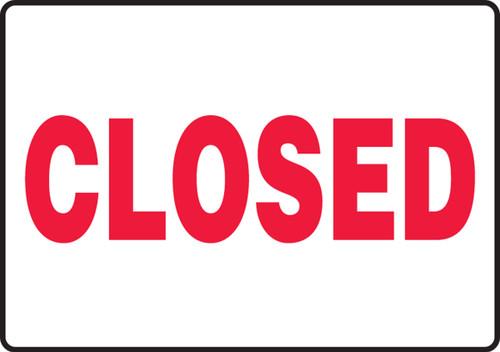 MADM544XF Closed Sign