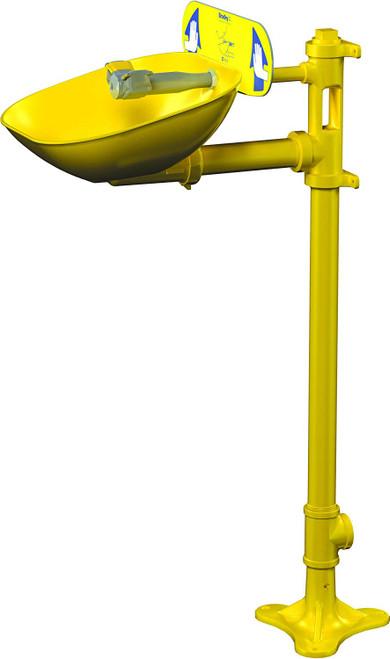 Bradley S19214EW Pedestal Mounted Eye Face Wash
