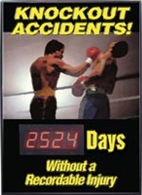 Safety Scoreboard- Knockout Accidents! #### Days Without A Recordable Injury