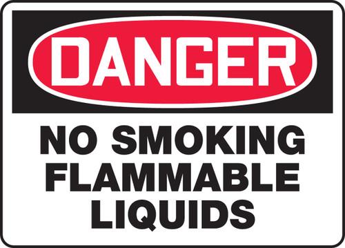 Danger - No Smoking Flammable Liquids