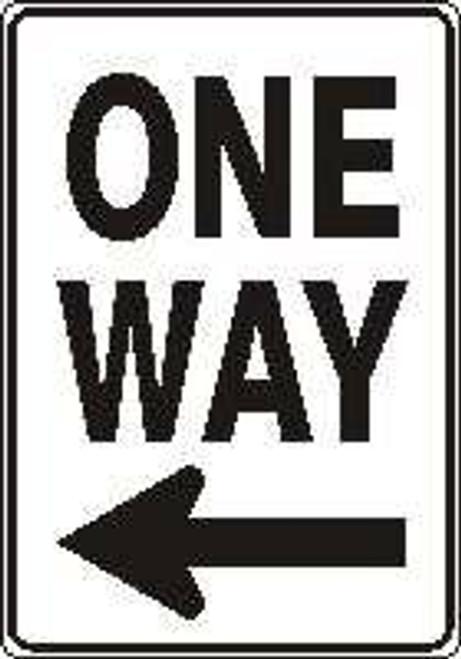 One Way Sign (left Arrow)