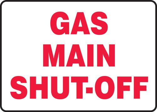 Gas Main Shut-Off