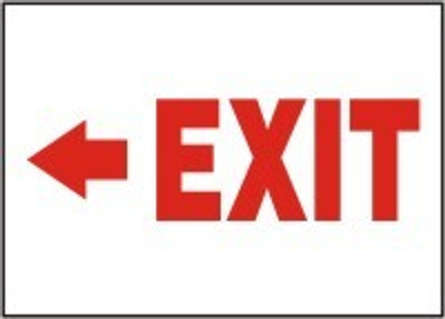 Exit Sign- Arrow Left 1