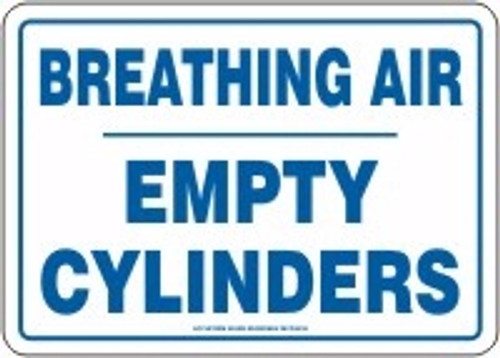 Breathing Air Empty Cylinders