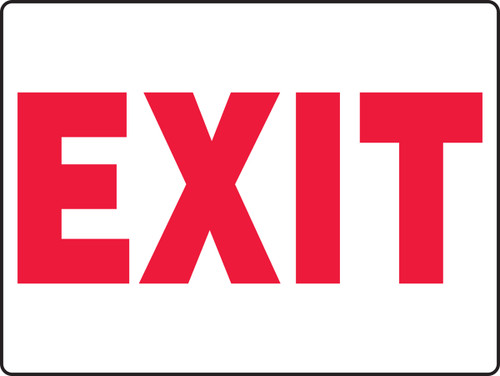 Exit Sign 2