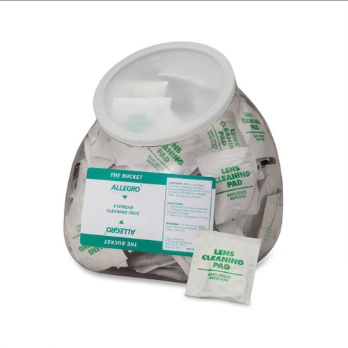 Allegro 0350-20 eyewear cleaning wipes