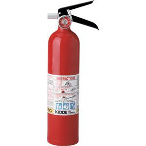 Fire Extinguisher by Kiddie- 2.5 lb ABC Pro Line with Wall Hook