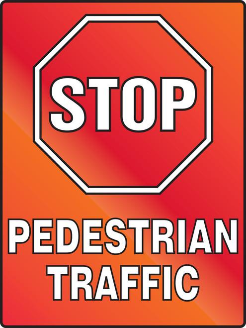 Stop Pedestrian Traffic