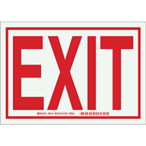 Exit - Re-Plastic - 7'' X 10'' 1