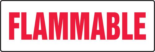 Flammable - .040 Aluminum - 12'' X 36''