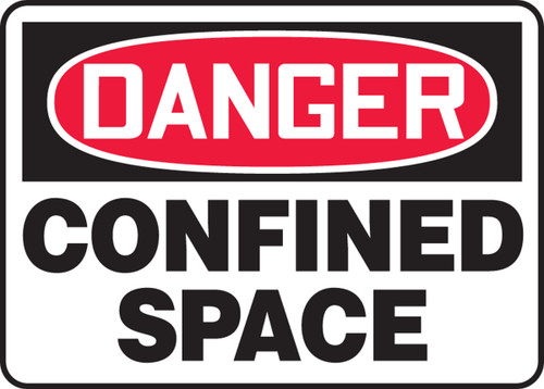 Danger - Confined Space - Accu-Shield - 14'' X 20''