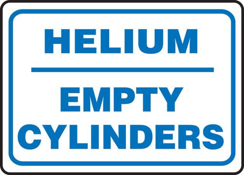 Helium Empty Cylinders - Re-Plastic - 10'' X 14''