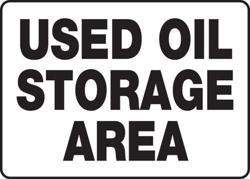 Used Oil Storage Area