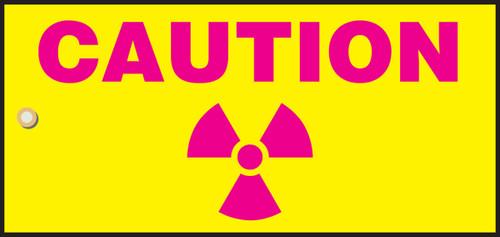 Caution Radiation Slide Sign Header