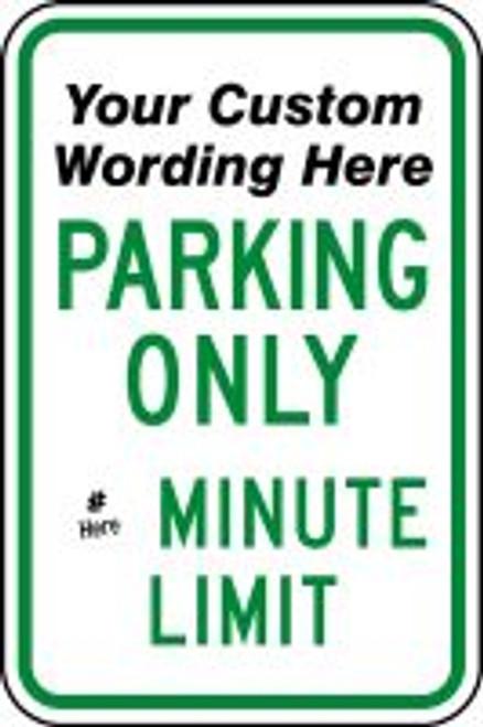Parking Sign- Semi Custom