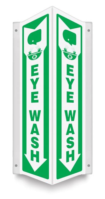 Emergency Eye Wash Sign 3D
