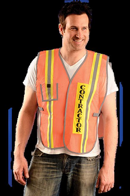 Safety Vest for Contractors S-XL (Set of 3 Safety Vests)