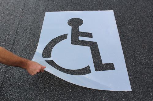 """Handicap Symbol (47""""h X 34""""w)"""