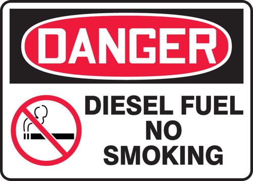 Danger - Diesel Fuel No Smoking