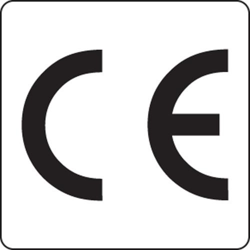 "CE Symbol Labels 1/2"""