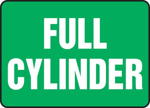 Full Cylinder - .040 Aluminum - 7'' X 10''