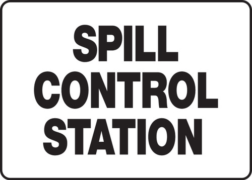 Spill Control Station - Plastic - 7'' X 10''