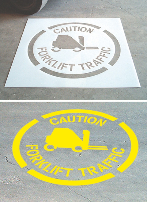 Footprints Pictorial- Floor Marking Stencils