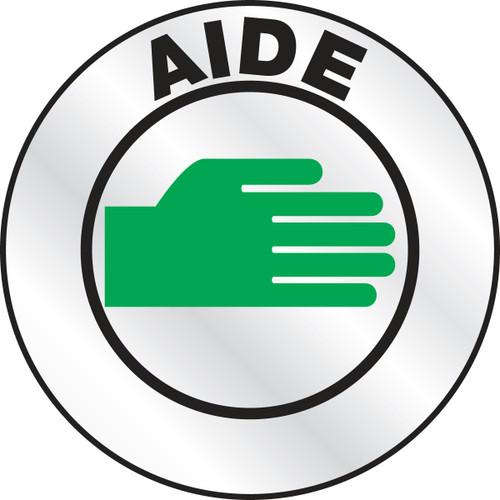 Aide Emergency Response Helmet Sticker