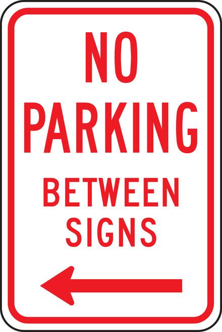 No Parking Between Signs 1