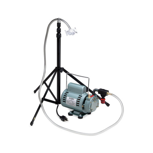 Allegro 9801 T-100 Jarless Sampling Pump w/ Stand Rotary Vane