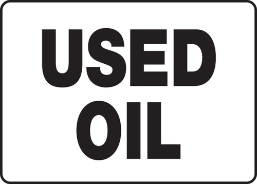 Used Oil - Plastic - 14'' X 20''