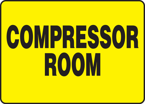 Compressor Room Sign