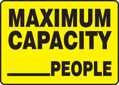 Maximum Capacity ___ People