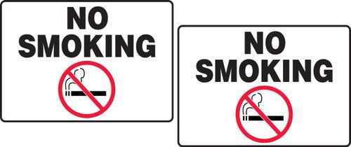 No Smoking Tabletop Sign