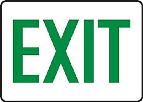 Exit - Accu-Shield - 7'' X 10'' 2