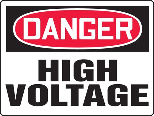 Danger - High Voltage - Plastic - 24'' X 36''