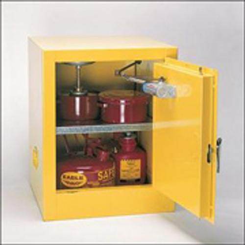 Eagle 2 Gallon Bench Top Flammable Storage Cabinet - Self Close Door