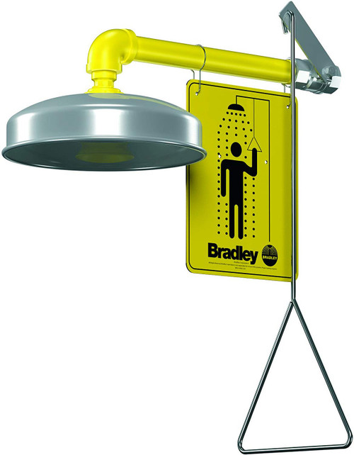 Bradley S19-120A Horizontal Supply Emergency Shower