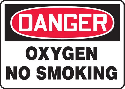 Danger - Oxygen No Smoking