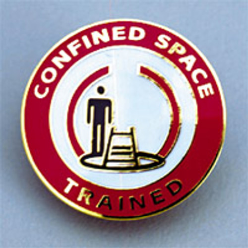 Confined Space Trained Badge
